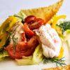 Куриная грудка с овощами и лавашом_1